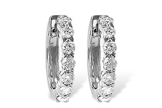 E047-21377: EARRINGS 1.00 CT TW