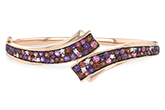 M234-52322: BANGLE 3.12 MULTI-COLOR 3.30 TGW (AMY,GT,PT)